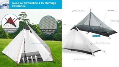 3F Gear – Classic Pyramid Tent