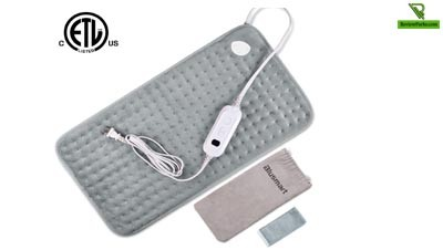 Blusmart Super Soft – Cheap and Safe Electric Heating Pad for Traveling [ Recommended ]