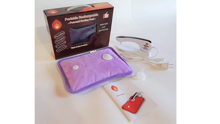 Hot Shot Rechargeable Portable Heat Pad