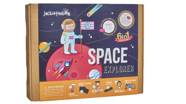 Jackinthebox Space Explorer Science Toys