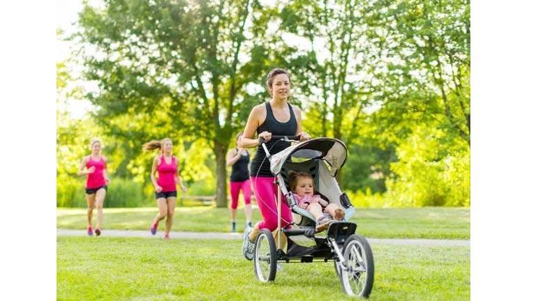 Make Use of Nap Time jogging stroller