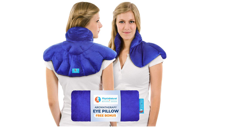 PhysioCare Neck & Shoulder Wrap Heating Pad