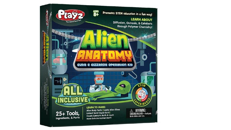 Playz Alien Anatomy Guts and Gizzards Science Toys