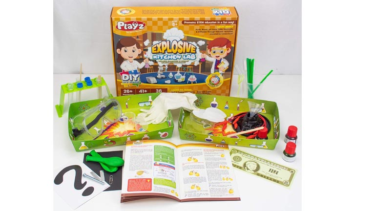 Playz Explosive Kitchen Lab Science Toys