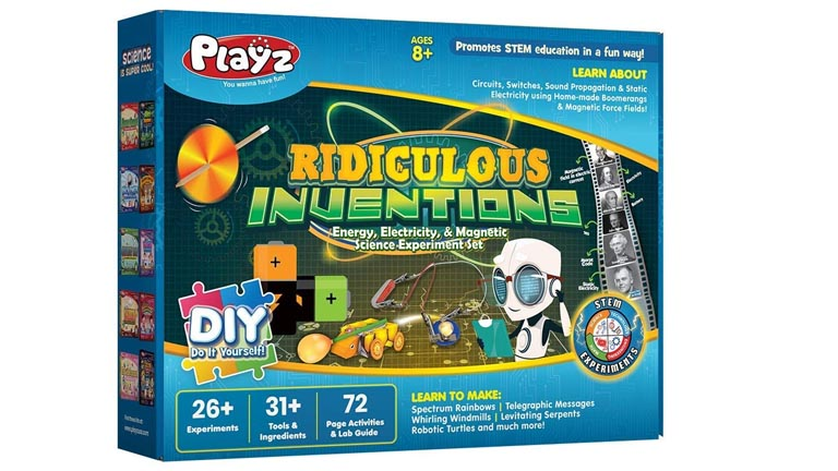 Playz Ridiculous Invention Science Toys