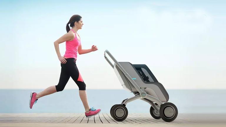 Maintain Proper Running Form Jogging stroller